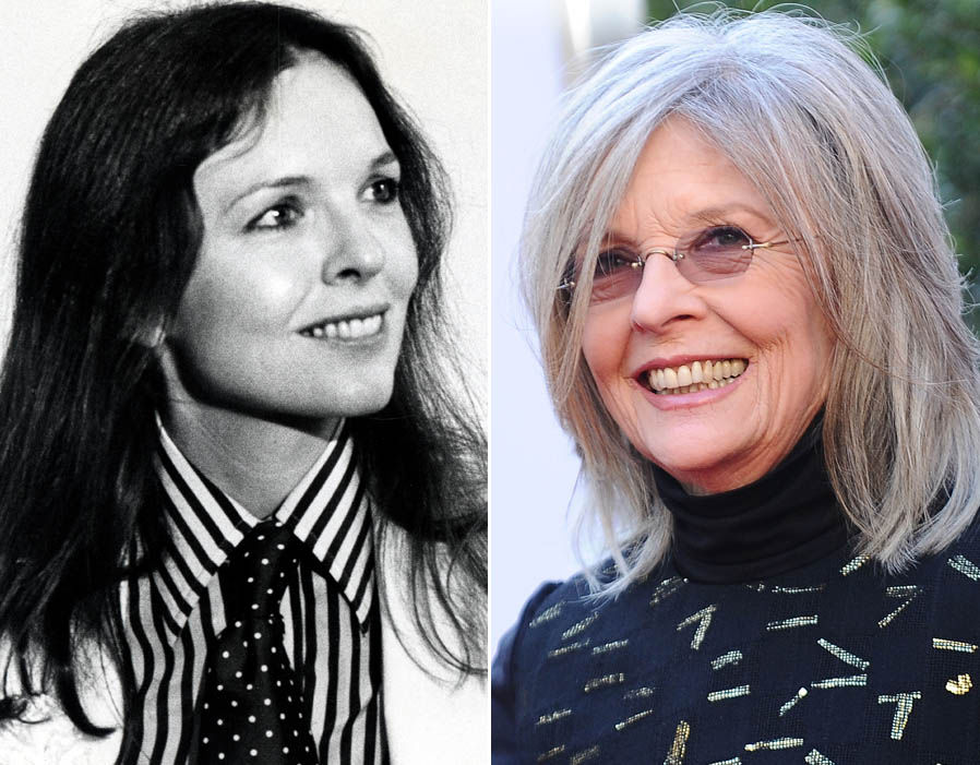 DIANE KEATON, 73 YEARS OLD