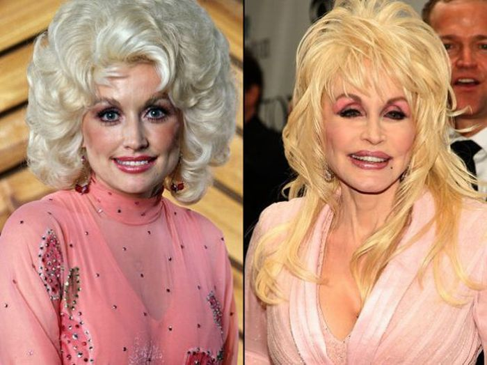 DOLLY PARTON, 73 YEARS OLD