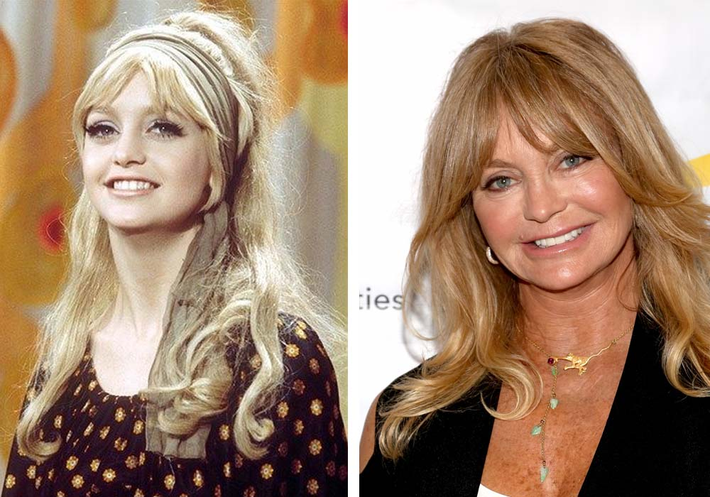 GOLDIE HAWN, 73 YEARS OLD