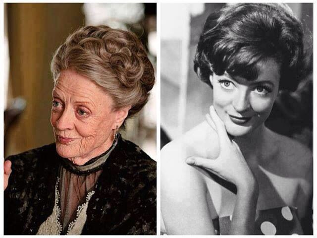 MAGGIE SMITH, 84 YEARS OLD