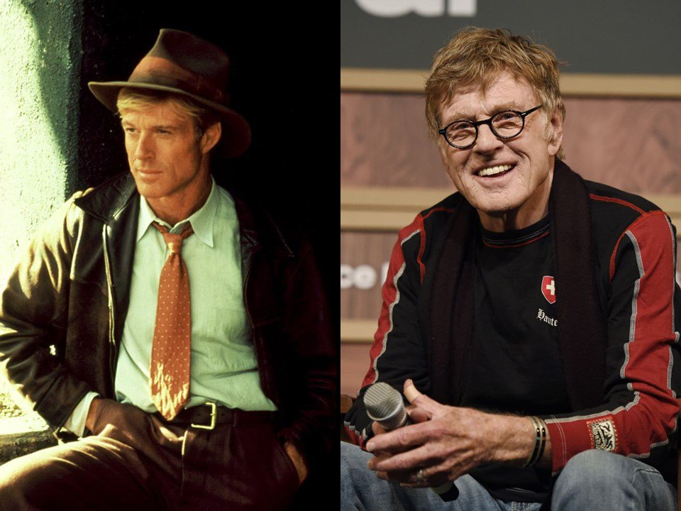 ROBERT REDFORD, 82 YEARS OLD