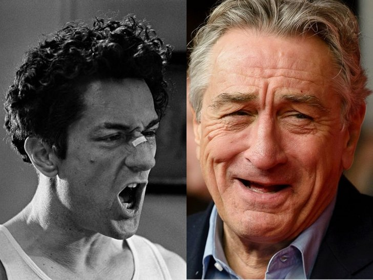 ROBERT DE NIRO, 75 YEARS OLD