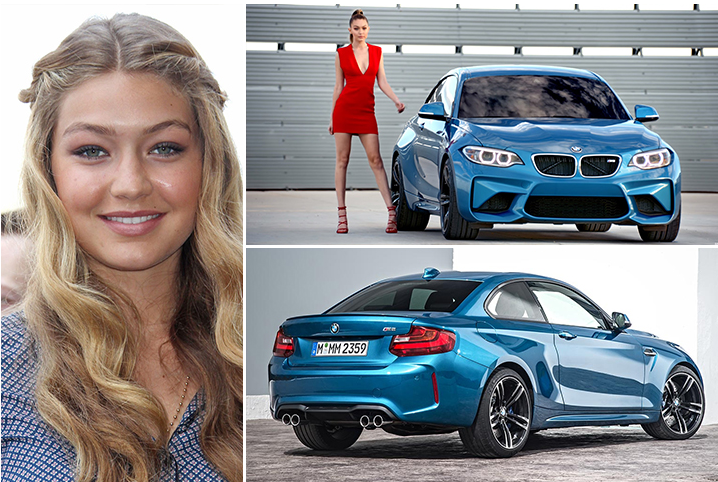 Gigi Hadid – BMW M2 Estimated 65K
