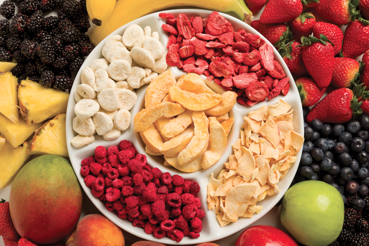Fresh And Dried Fruit