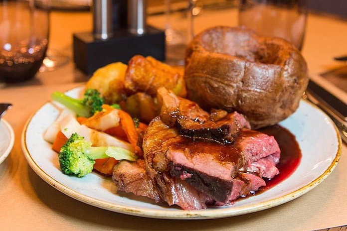 Sunday Roast With Yorkshire Pudding
