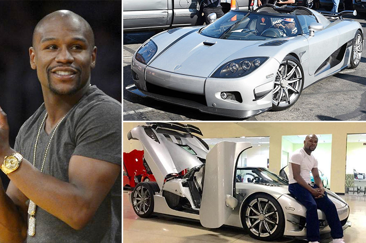 Floyd Mayweather – Koenigsegg CCXR Trevita Estimated 4.8 Million