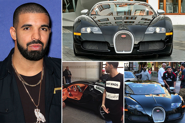 Drake – Bugatti Veyron Estimated 2.5 Million