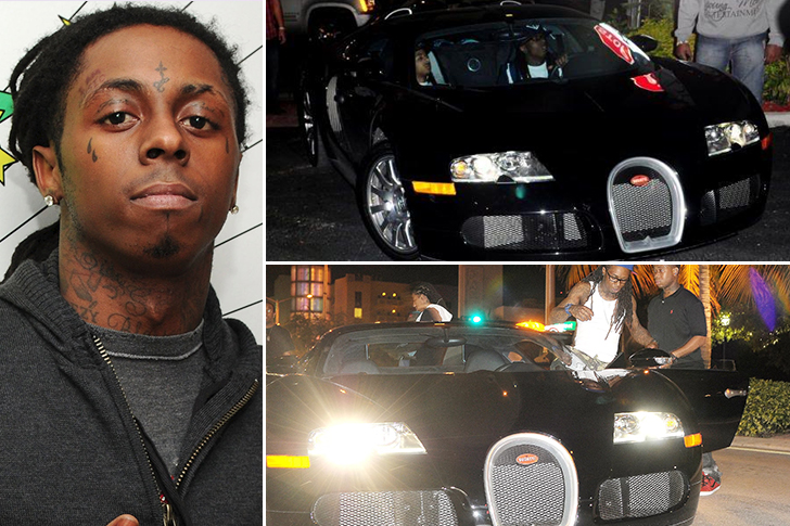 Lil' Wayne – Bugatti Veyron Estimated 2.5 Million