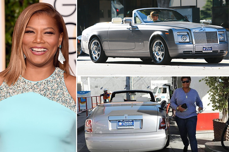 Queen Latifah – Rolls Royce Phantom Drophead Coupé Estimated 370K