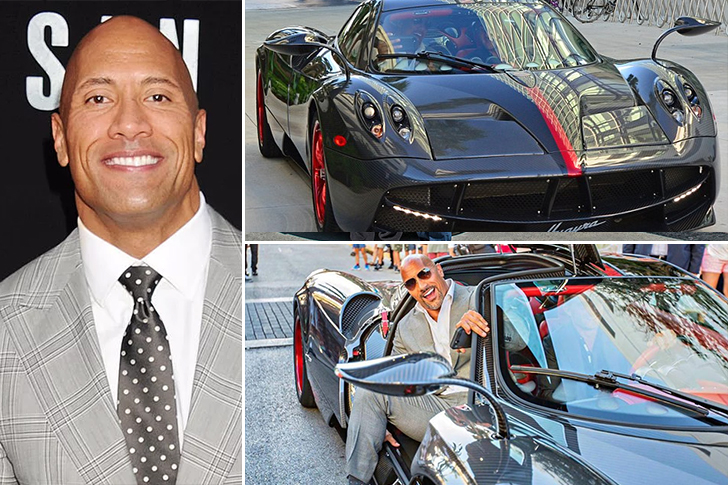 "Dwayne ""The Rock"" Johnson – Pagani Huayra Estimated 1.5 Million"