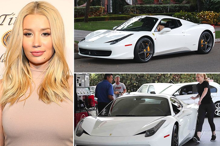 Iggy Azalea – Ferrari 458 Italia Estimated 225K