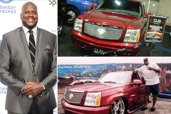 Shaquille O'Neal – Cadillac Escalade Estimated 150K
