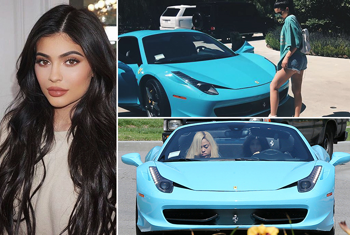 Kylie Jenner – Ferrari 458 Spider Estimated 250K