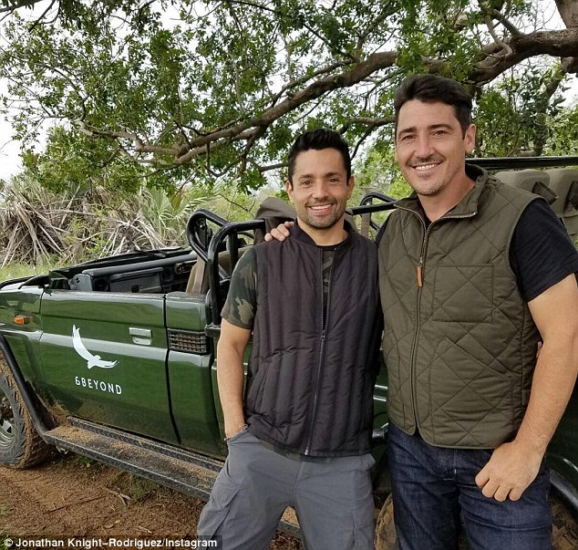 Jonathan Knight And Harley Rodriguez