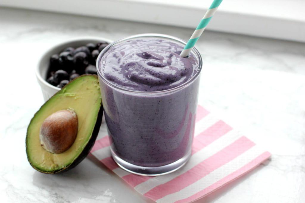 Blueberry Avocado Smoothie Recipe