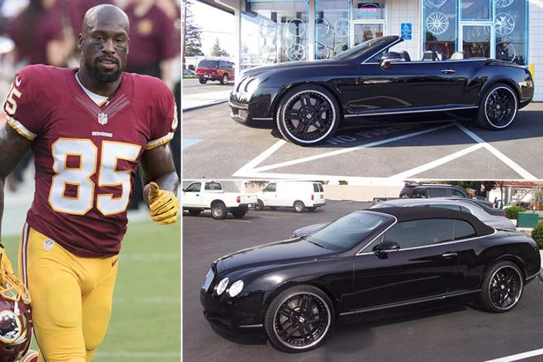 Vernon Davis – Bentley Continental GT Convertible Estimated 200K