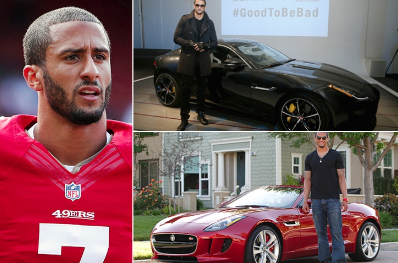 Colin Kaepernick – Jaguar F Type Estimated 100K
