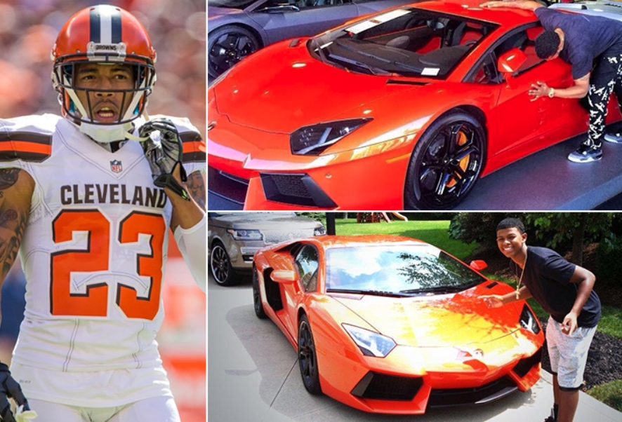 Joe Haden – Lamborghini Aventador Estimated 1.1 Million