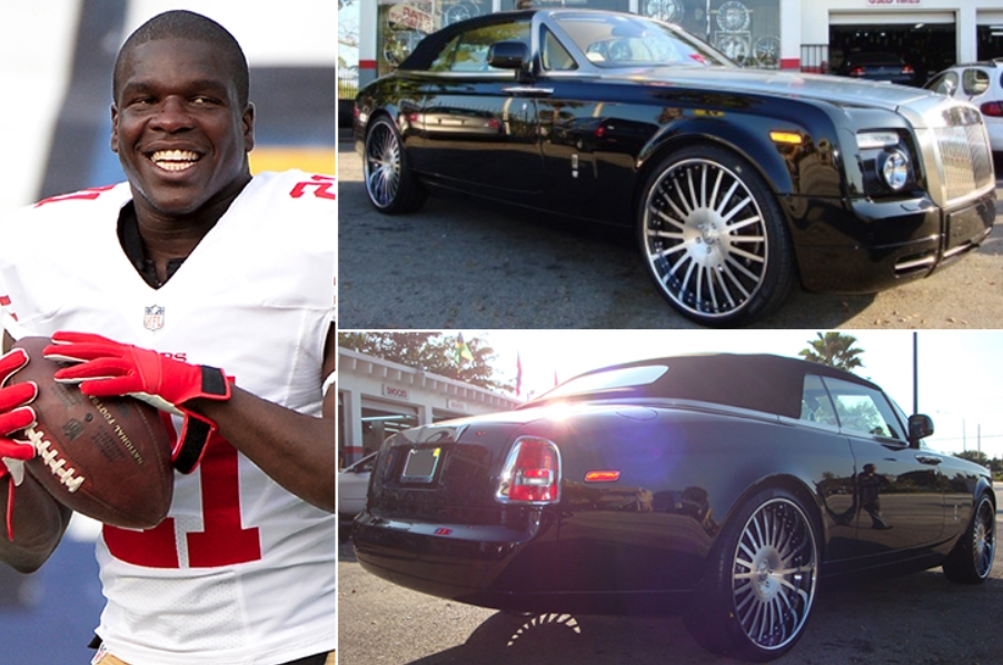 Frank Gore – Rolls Royce Phantom Drophead Coupé Estimated 350K