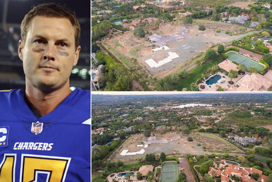 Philip Rivers – Rancho Santa Fe Estimated 4.7 Million