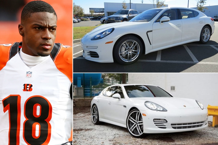 A.J. Green – Porsche Panamera 4S Estimated 160K