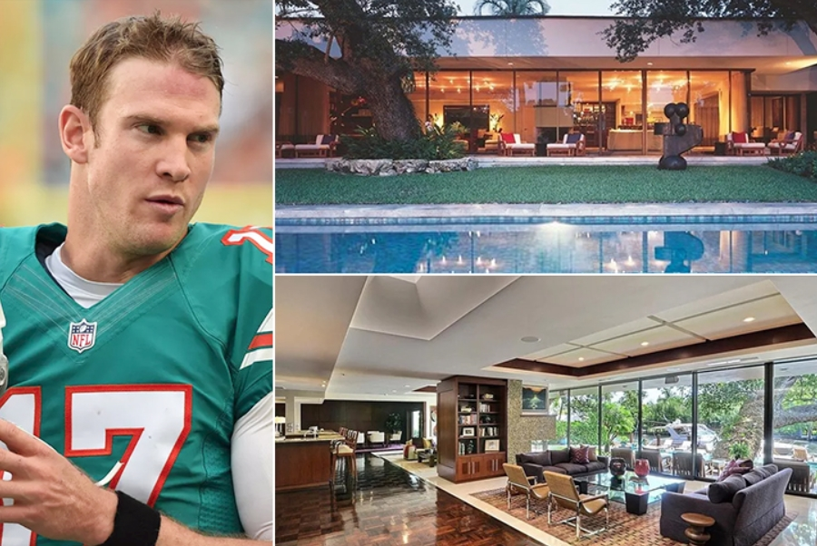 Ryan Tannehill – Fort Lauderdale Estimated 4.3 Million