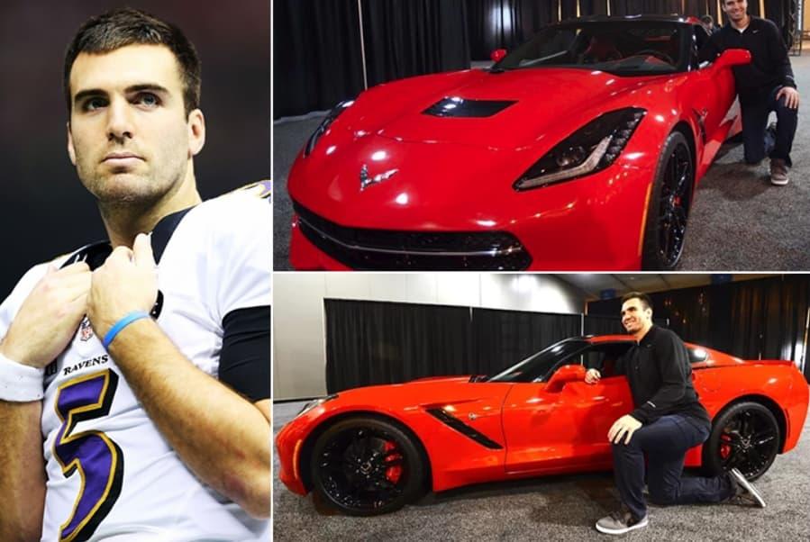 Joe Flacco – Corvette Stingray Estimated 70K