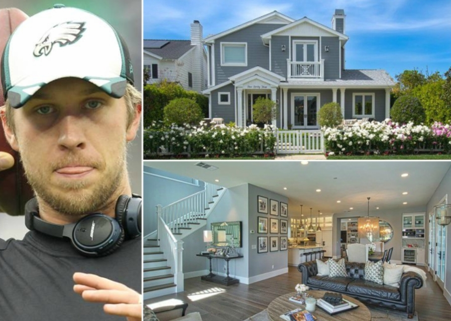 Nick Foles – Newport Beach 2.7 Million