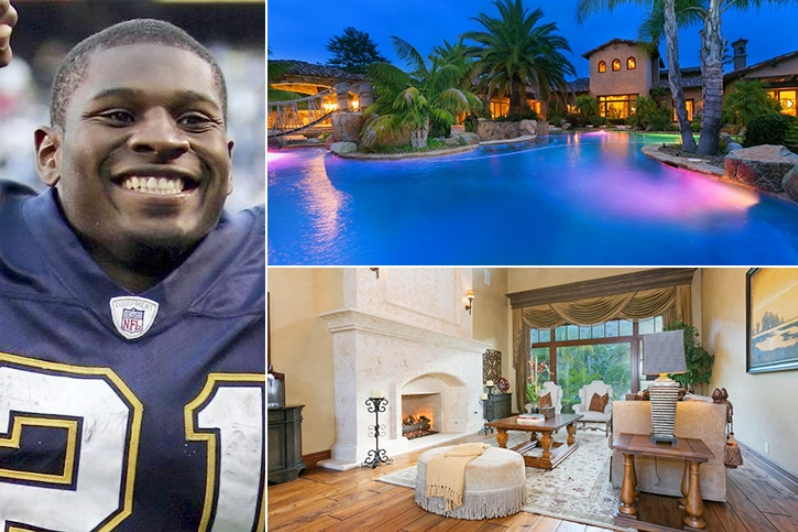 LaDainian Tomlinson – California Estimated 5 Million