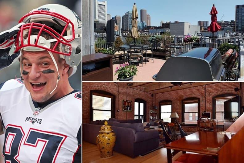 Rob Gronkowski – Boston Estimated 2.2 Million