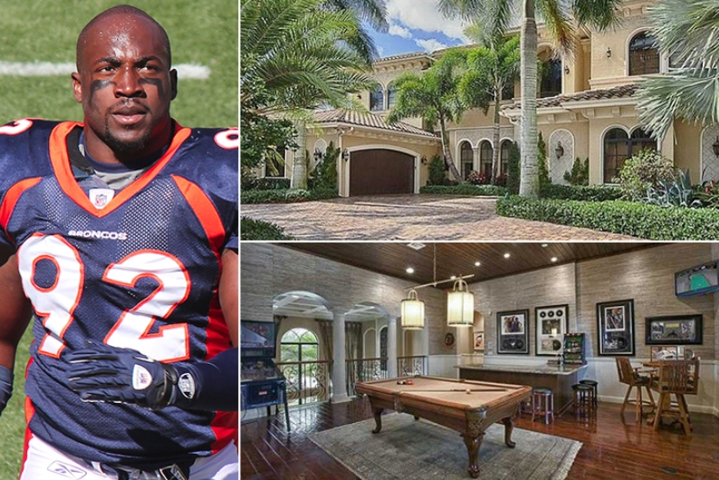 Elvis Dumervil – Florida Estimated 2.3 Million