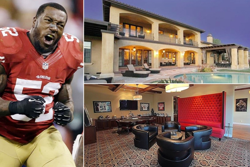 Patrick Willis – San Jose Estimated 6 Million