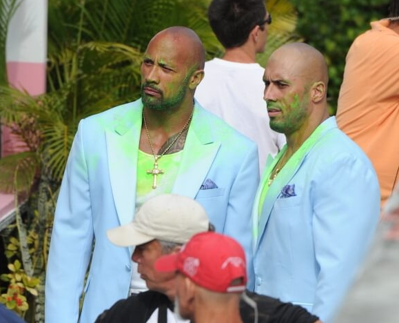 The Rock's Stunt Double Is His Cousin