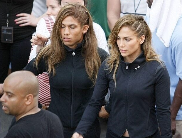 J Lo's Double Has Cheekbones That Could Kill