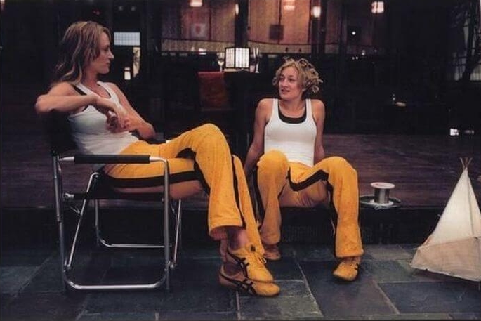 I Wouldn't Want To Cross Uma Thurman Or Her Stunt Double Zoe Bell