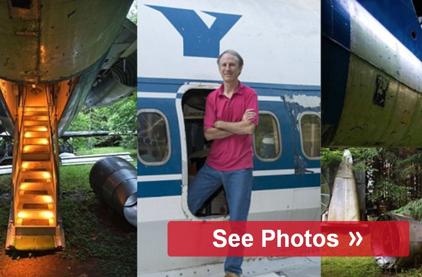 Man Buys Old Airplane Turns It Into Home