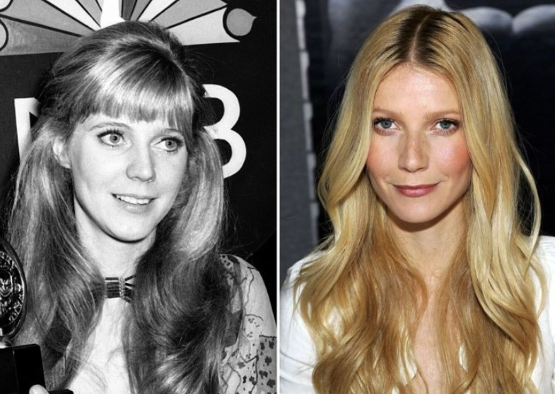 Blythe Danner And Gwyneth Paltrow – In Their 30s