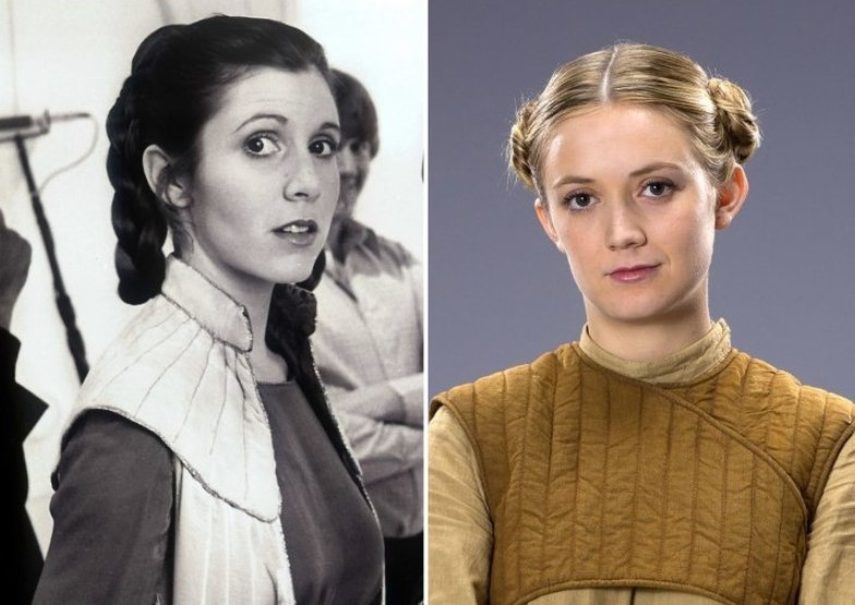 Carrie Fisher And Billie Lourd – Early 20s