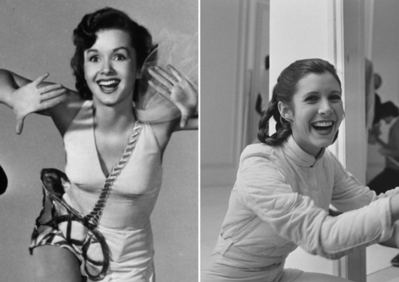 Debbie Reynolds And Carrie Fisher – Early 20s