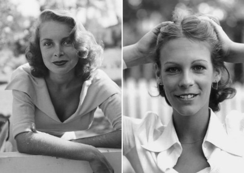 Janet Leigh And Jamie Lee Curtis – In Their 20s