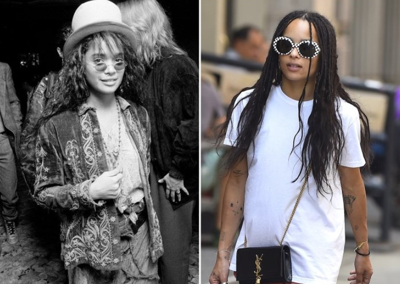Lisa Bonet And Zoë Kravitz – In Their 20s