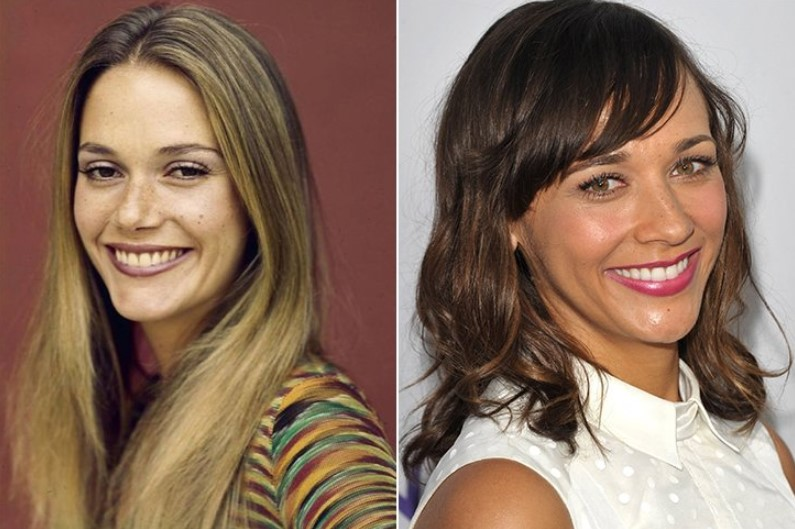 Peggy Lipton & Rashida Jones – Late 20s