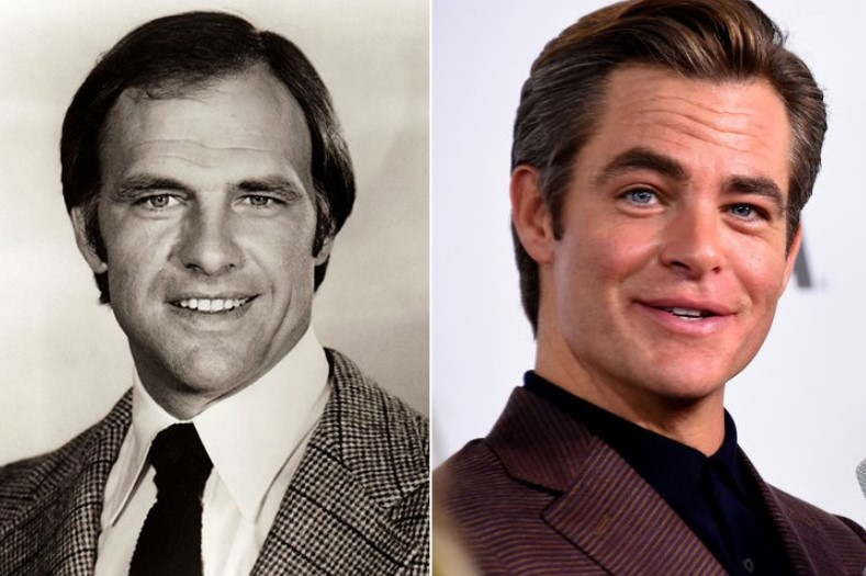 Robert Pine & Chris Pine – Early 30s