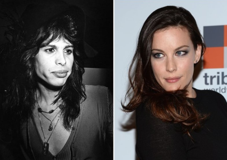Steven Tyler And Liv Tyler – In Their 30s