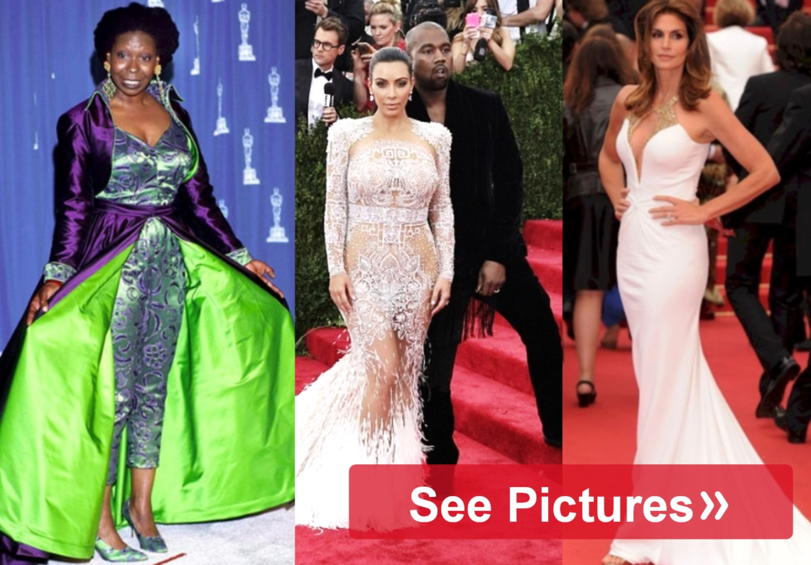 The All Time Most Unforgettable Oscar Dresses
