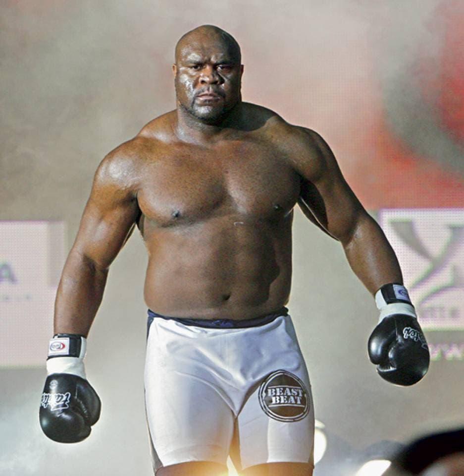 Bob Sapp Professional Boxer
