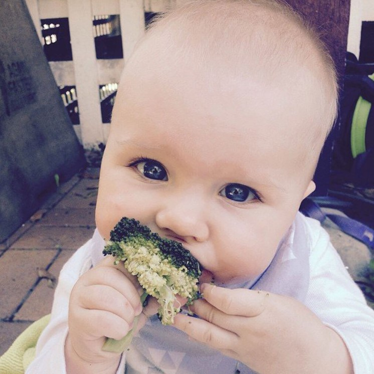 At 13 Months Grace Was Eating Healthier Than Most Adults
