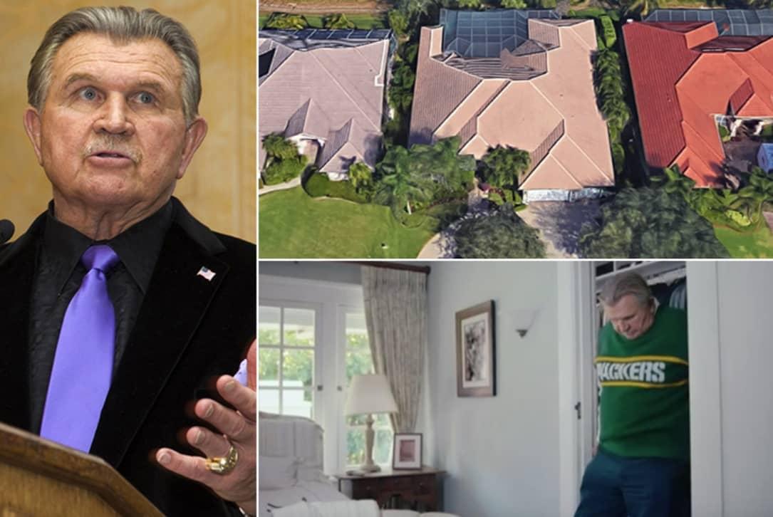 Mike Ditka – Estimated $3 Million, Florida