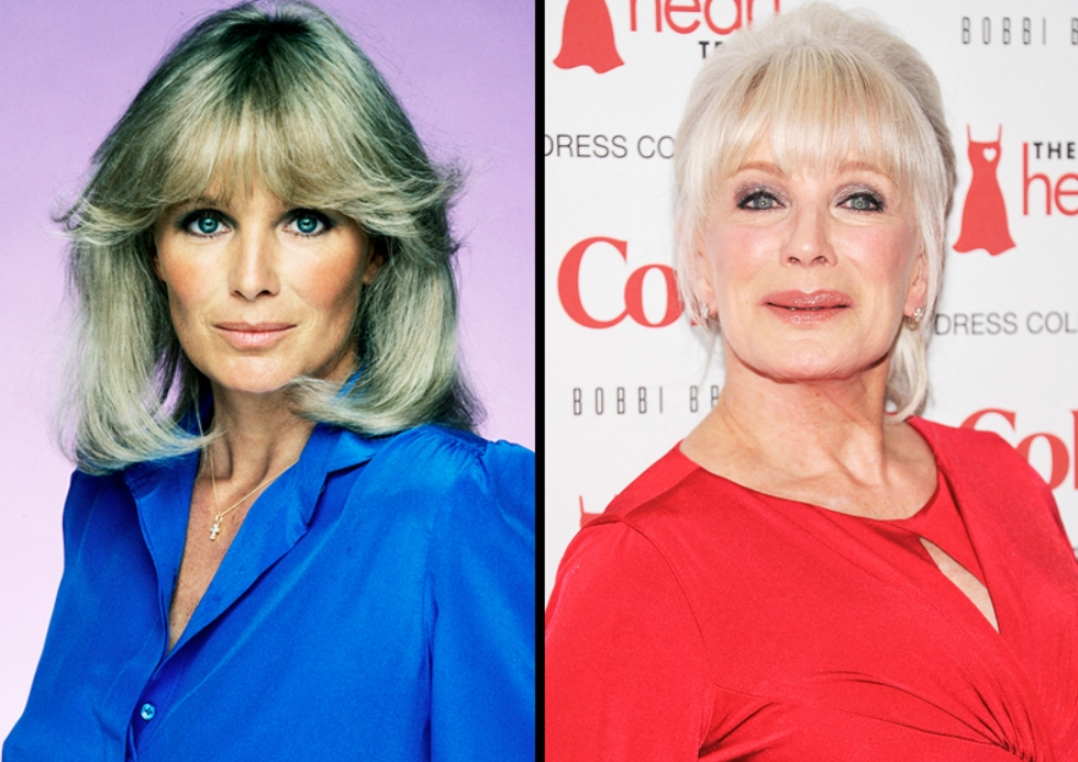 LINDA EVANS, 76 YEARS OLD