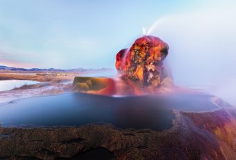 Fly Geyser Nevada US